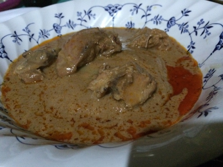 Peanut Chicken and Fufu
